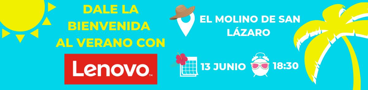 Bienvenida al verano con Lenovo