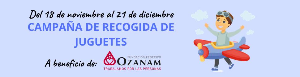 Campaña juguetes Ozanam