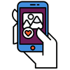 Icono apps móvil