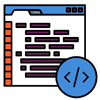 Icono apps y desarrollo web